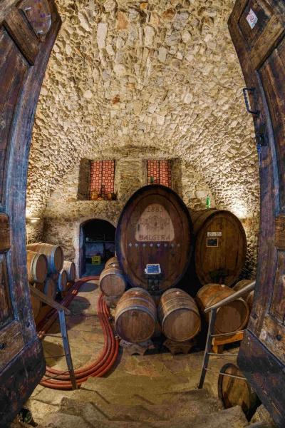Invecchiamento del vino in botte